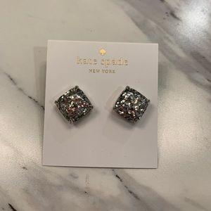 Kate Spade Silver confetti studs
